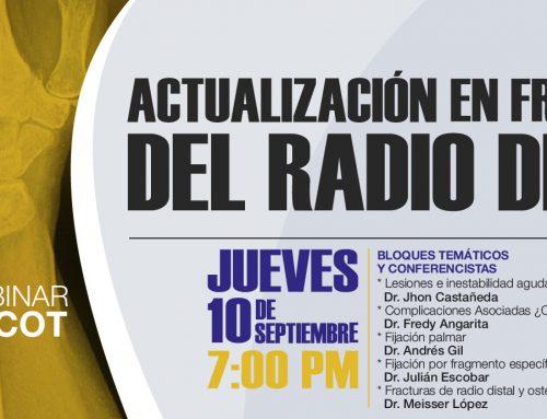 Webinar Actualización en fracturas del Radio Distal