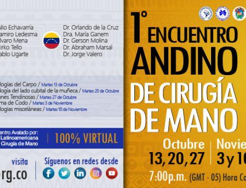 1° ENCUENTRO ANDINO DE CIRUGÍA DE MANO SESIÓN 4